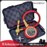 Wholesale EZ Deflator tire gauge tyre gauge set with case x4 Rapid Tyre Deflator Air Deflators Pressure Gauge Valve Tool