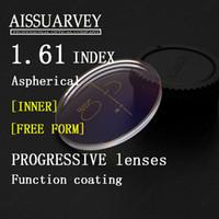 al por mayor lectura de la visión-1.61 asp liberan la lente progresiva de la lente progresiva óptica de las lentes de la prescripción de la lente de la lectura que envía libremente