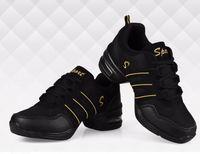 ballroom dancing shoes men - Plus Size Dance Shoes Women man Jazz Hip Hop Shoes For Woman Sneakers Salsa Ballroom Dance Shoes latin zapatos de baile