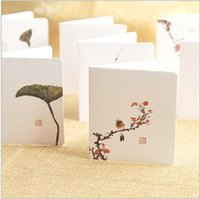 Wholesale Creative simple classical Chinese style greeting card business card business card message card Christmas card small card