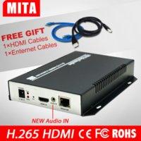 Wholesale HD1080P HDMI H encoders HEVC hardware encoder for IP TV H265 live video streaming IPTV