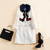 Wholesale Europe and the United States women s new autumn Runway fashion high end wool coat of cultivate one s morality