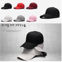 Precio de Sombreros de béisbol en blanco snapback-Los sombreros llanos blancos del snapback de la moda del uniex Hip-hop ajustan la gorra de béisbol del bboy