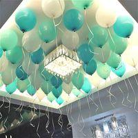 advertising ballons - Tiffany Blue Balloons Inch Thick g Birthday Ballons Decorations Wedding Ballons Tiffany Blue Globos Party B004