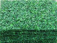 artificial turf mats - 200pcs Simulation grass Artificial encryption grass mat Artificial plastic grass lawn turf Shooting propsdecorations supply CM Cm
