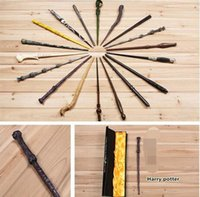 Wholesale 18 Styles Cosplay Harry Potter magic wand Dumbledore magical wand wizarding world of harry potter Hogwarts Magic with a Gift Box MOQ