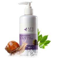 Wholesale AFY Snail nourish repair moisturizing body lotion body whitening cream hair weeks to repair ml