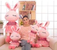 achat en gros de l'amour des animaux en peluche-Poupée de lapin en peluche d'amour Poupée de chouchou en forme de lapin Poupée de lapin KKA1409