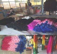 Cheap Wholesale 10pcs  lot 43 Colors Stock Ombre xpression kanekalon jumbo braiding hair 24inch 100g synthetic two three tone braid hair for women