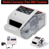 Wholesale Bank Note Multi currency Bill Counter Detector Money Fast Counting V W UV