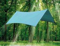 Venta al por mayor- Al aire libre sobrevivencia resistente al agua Oxford rincones esquinas Tent Tarps picnic, playa, viajes, camping, senderismo, plegable alfombras de picnic