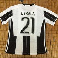 Wholesale Juve HIGUAIN jerseys CUADRADO KHEDIRA ZAZA DYBALA MARCHISIO MANDZUKIC PJANIC Football shirts JERSEYS