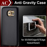 Cheap For Apple iPhone Anti Gravity Selfie TPU PC Hybrid Case Best Plastic Black Magical Nano Sticky Antigravity Cover