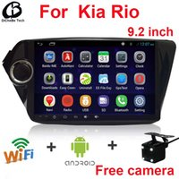 Wholesale inch car radio for Kia RIO K2 android GPS non car dvd player with navigation video player radio bluetooth