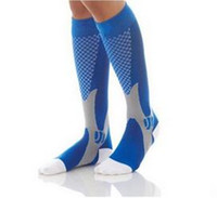 baseball magic - Cycling soccer socks Unisex Leg Support Stretch Magic Compression Fitness Football Basketball Socks Performance Sports Running