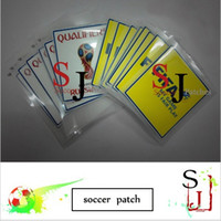 Wholesale benefit iron russ world patch russias Qualifiers patch Fair Paly patches Brand new match soccer patch badges