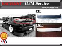 Wholesale Car Accessories Carbon Fiber FRP Fiber Glass DM Style Trunk Spoiler Fit For R32 GTS GTR Rear Spoiler Trunk Wing