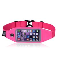 Wholesale AONIJIE Multifunction Outdoor Sport Waist Belt Bag Marathon Running Phone Case Fanny Pack for iPhone Samsung inch
