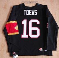 Cheap Youth kids Canada OLYMPIC Jersey 16# Jonathan Toews 20# John Tavares 22# Jamie Benn 24# Corey Perry Jerseys