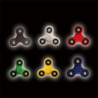 Wholesale HandSpinner Fingertips Spiral Fingers Fidget Spinner EDC Hand Spinner Acrylic Plastic Fidgets Toys Gyro Toys With Retail Box