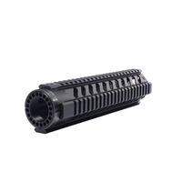 ar cap - AT4 AR Tactical Inch Handguards Rail Mid Length FF Free Float Quad Rail Handguard Picatinny Tube With End Cap