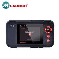 al por mayor escáner coche x431-Lanzamiento X431 creader VII + explorador del coche Lanzamiento X431 creader vii Igual CRP123 creader 7+ actualizado DHL en línea envío gratis