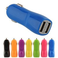 Wholesale Duck Mouth Full V A Car Charger Dual USB Port For Any Mobile Phone Cellphone Power Device