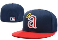 angels baseball hats - FREE New Los Angeles Angels Baseball Cap Embroidery Logo Cooperstown Fitted Hats Adult Fit Sports Cap