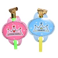 Wholesale Multi Color Party Blowouts Whistles Kids Birthday Party Favors Decoration Supplies Noicemaker