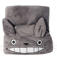 air tv cosplay - Anime Totoro Cool Air Conditioning quilt Totoro Shawl Clothes Cosplay Animal House Cosplay cm Retail Opp JK