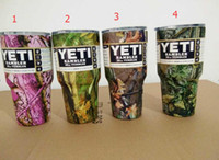Wholesale Colorful OZ Camo YETI cups Tumbler Rambler Cups Large Capacity Stainless Steel Cars Coffee Thermos Mugs