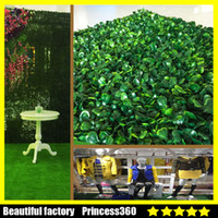 Artificial Plants artificial tree plants - Artificial Grass plastic boxwood mat topiary tree Milan Grass for garden home wedding decoration Artificial Plants MPB002