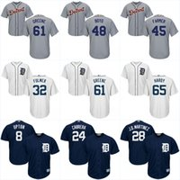 bell tiger - Detroit Tigers Men s Cool Base Jerseys Victor Alcantara Sandy Baez Chad Bell Matt Boyd Jerseys