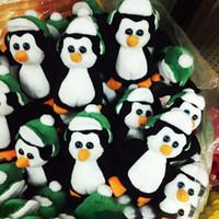achat en gros de cadeaux d'anniversaire pingouin-Poupée Peluche Poupée 11Cm Poupée Rembourrée Big Eyes Animaux Poupées Douces Pour Enfants Cadeaux d'Anniversaire Noël Xmas XL-P147