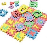 as pic alphabet foam floor puzzle - New Classic Children Toys Foam Floor Learning Educational Toy Alphabet Number Puzzle Mat For Kids