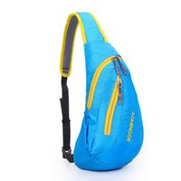 badminton women single - 2016 new bright chest pack single shoulder bag backpack portable men and women sports travel bag