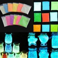 Wholesale Super Bright Glow in the Dark Environmental Fluorescent Powder DIY Glow Pigment