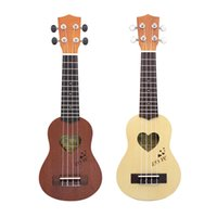 Wholesale quot Mini Ukulele Ukelele Spruce Sapele Top Rosewood Fretboard Stringed Instrument Strings with Gig Bag
