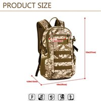 Wholesale 12L Mini Backpack Rucksack Gear Tactical Assault Pack Student School Bag for Hunting Camping Travel