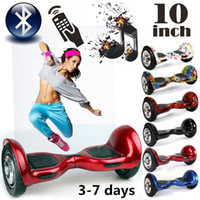 Wholesale Stock in USA inch Scooters Smart Hoverboard Bluetooth Remote Two Wheels Electric Scooters Self Balancing Wheel Skateboard Drop Shipping