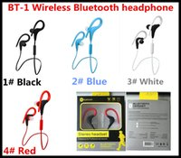 Cheap Wireless BT-1 wireless headset Best Cell Phones Stereo sports headset