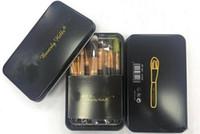 Wholesale Makeup Brushes set makeup wooden brush kit Delicate iron boxes brush case suits Powdery bottom makeup brush set