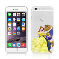TPU beauty beast cover - Phone Case for iphone s plus S Plus S SE Beauty and Beast Snow White Princess creative Silicone Protective Cover for Samsung S7 S6