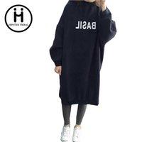 basil winter - 2017 New Spring Autumn Winter Womens Printed BASIL Pullover casual Sweatshirts Long Blouse Tops Sudaderas Mujer