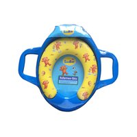 Wholesale Superior Quality Infant Portable Cushion Soft Baby Toilet Training Seat With Handles For Kids Children Trainer