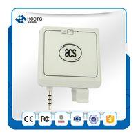 audio shops - 2016 online shop android magnetic card reader magnetic head audio jack emv iso smart card reader ACR32
