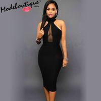 Wholesale MinBoutique Women Dress Black Color M1670