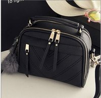 authentic production - Ms fashion shoulder bag Messenger type authentic promotions affordable Wild fashion handbags autumn new production