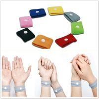 Wholesale Anti nausea Waist Support Sports cuffs Safety Wristbands Carsickness Seasick Anti Motion Sickness Motion Sick Wrist Bands