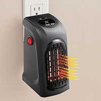 Wholesale SF EXPRESS handy heater electirc heaters the wall outlet space heater quick heat plug in personal heaters Christmas gifts